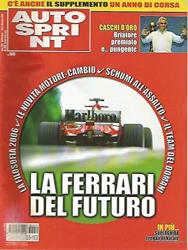Autosprint 50 Dicembre 2005 Trulli, Ferrari FXX, Briatore - Monte dei caschi