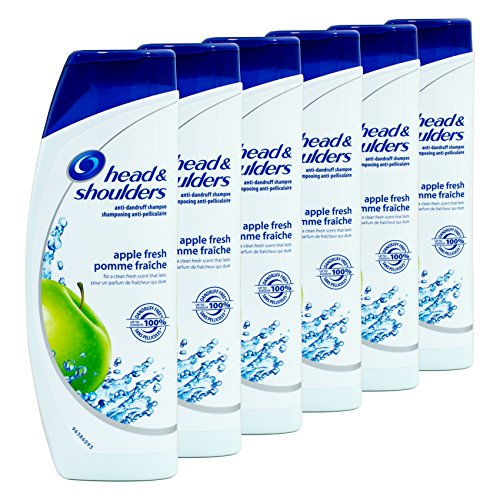 6 x Head & Shoulders Anti-Schuppen Shampoo - Apple Fresh - 400 ml