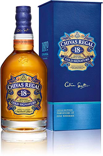 Photo of Chivas Regal 18 Year Old Gold Signature Blended Scotch Whisky, 70 cl