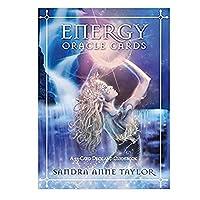 トランプデッキ、エネルギーオラクルカード:友人や家族の集まりのためのテイラー、サンドラアン(2013)による53カードデッキとガイドブック