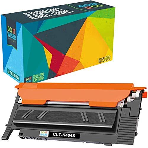 Do it Wiser Cartouche de Toner CLT K404S Compatible pour Samsung C430W Xpress SL-C430W SL-C480FW SL-C480W SL-C480FN (Noir)