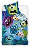 Disney Monsters University - Juego de cama (140 x 200 cm)