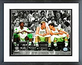 NBA Robert Parish, Larry Bird, Kevin McHale Boston Celtics Action Photo (Size: 12.5