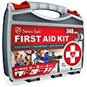 348-Piece Swiss Safe 2-in-1 First Aid Kit