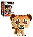 Funko Pop Simba 547 - Figura de El rey León, 9 cm, de Disney Flocked Boxunch Exclusive #1...