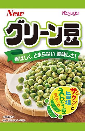 春日井製菓 エコノミーグリーン豆 64g×12個
