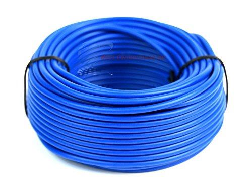 16 GA 50' Blue Audiopipe Car Audio Home Remote Primary Cable Wire