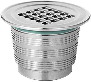 AILHL Cápsulas Reutilizables Filtro de café con filtros de café de Cepillo de Cuchara para la máquina de café de Nestlé 36,7 x 23 x 26,9 mm