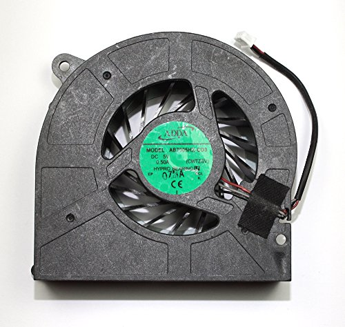 Power4Laptops Replacement Laptop GPU Fan for Toshiba Qosmio X505, Toshiba Qosmio X505-Q830, Toshiba Qosmio X505-Q832, Toshiba Qosmio X505-Q850, Toshiba Qosmio X505-Q860