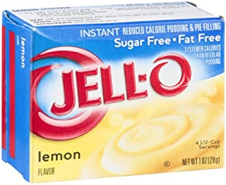 Jell-O Instant Reduced Calorie Pudding & Pie Filling Lemon Sugar Free
