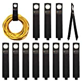 VIGAER 12 Pack Heavy Duty Storage Straps, Extension Cord Organizer, Hook and Loop Cable Straps