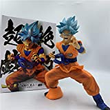 Modelo De Personaje Goku Dark Blue Super Skill Ver. Figura De Acción De Pvc Saiyan Fighting Position...