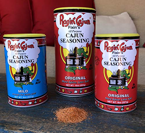 All Purpose Cajun Seasoning Original 8 oz Ragin' Cajun