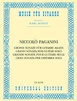 PAGANINI - Gran Sonata para Guitarra (Scheit)