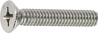 M5x20mm Phillips Flat Head Machine Screws - Pack 50