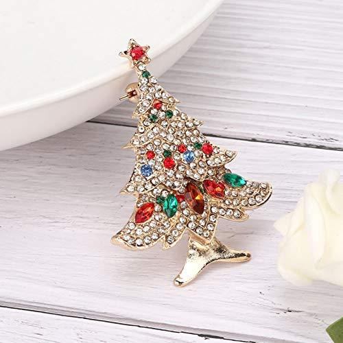 Broche Pin Decoración de diamantes de imitación, para regalos, conveniente para fiesta