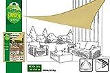 Aktive Garden 53905 - Toldo Vela Triangular Crema 360 x 360 x 360 cm