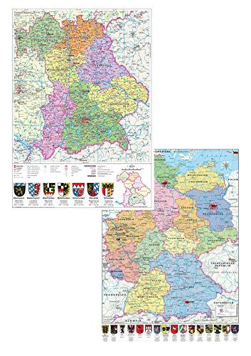 Bayern politisch/ Deutschland politisch - DUO-Schreibunterlage: DUO-Schreibunterlage (Hochformat)