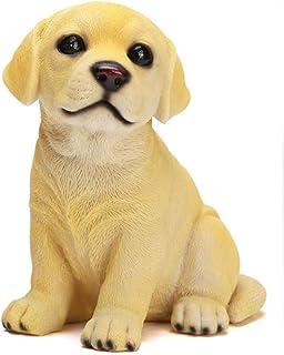 Z3Z Hucha Juguetes para Niños Decoración del Hogar Material De Resina Forma De Perro Diseño Creativo Hecho A Mano