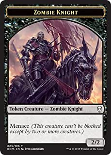 Zombie Knight Token - Dominaria