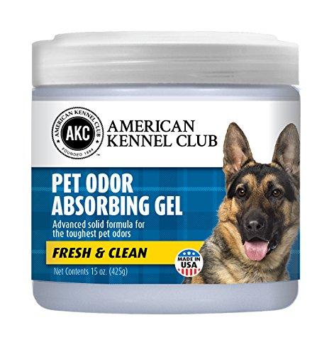 Smells Begone Pet Odor Absorber Gel - Air Freshener & Odor Eliminator - Made with Essential Oils - Fresh & Clean Scent - 15 Ounce