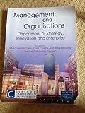 Management and Organisations - Abteilung für Strategie, Innovation und Enterprise