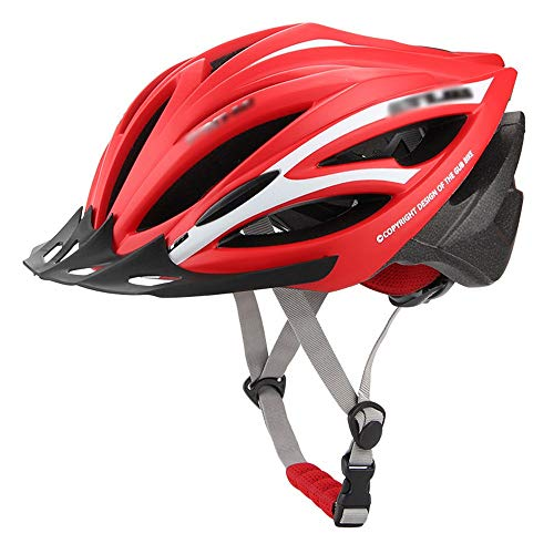 Cycling Bike Helmet for Men Women Adult with Removable Sun Visor, Mountain Road Bicycle Helmets Adjustable Size (5 Colors, 55~61CM)