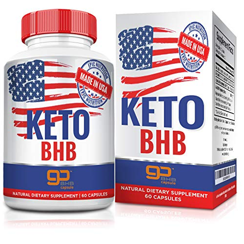 Keto BHB Exogenous Ketones - Carb-Free Energy Booster, Fuels Ketosis, Boosts Metabolism and Low Carb Diet Support for Healthy Weight Loss - 120 Capsules