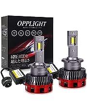 LED ヘッドライト 車検対応 OPPLIGHT最新型 Rシェード(遮光板)付き リフレクターレンズ対応