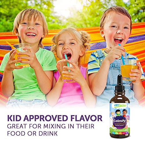 Kids Magnesium Supplement - Calming Drops for Kids Anxiety Relief - Perfect Stress, Anxiety, Calming aid for Kids…
