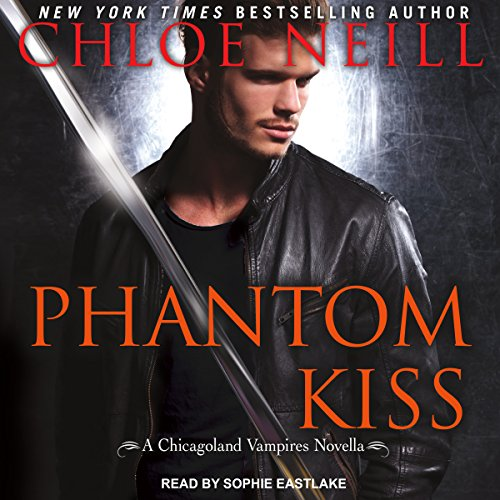 Phantom Kiss audiobook cover art