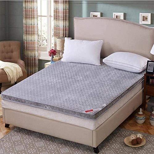 Colchón de Espuma de Memoria hipoalergénica, colchón de Recubrimiento de algodón ortopédico, colchón de colchón de sofá Vivo Futón colchón de Yoga Mat/b / 180 * 200 cm