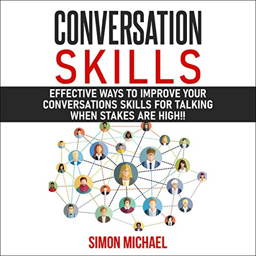Conversation Skills audiobook cover art