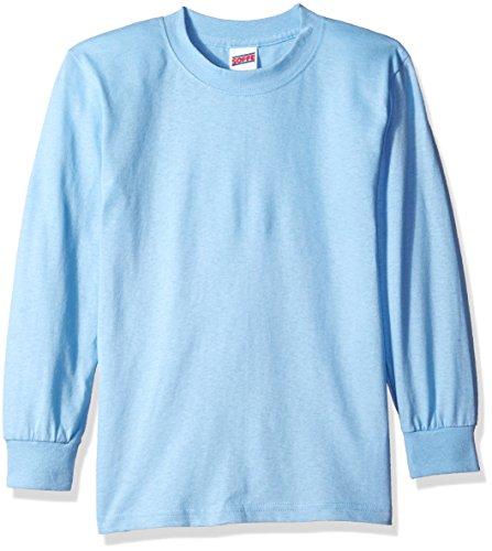 youth light blue tshirt - 2