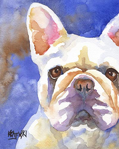 """French Bulldog Art Print 