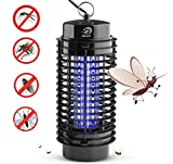 NIKAND Bug Zapper Electric Mosquito Killer Lamp - Insects Killer for Indoor & Outdoor Fly Pests Attractant - Bug Zapper Table Top Electric UV Light Trap Insect - Pest Control Grid Electronic Patio