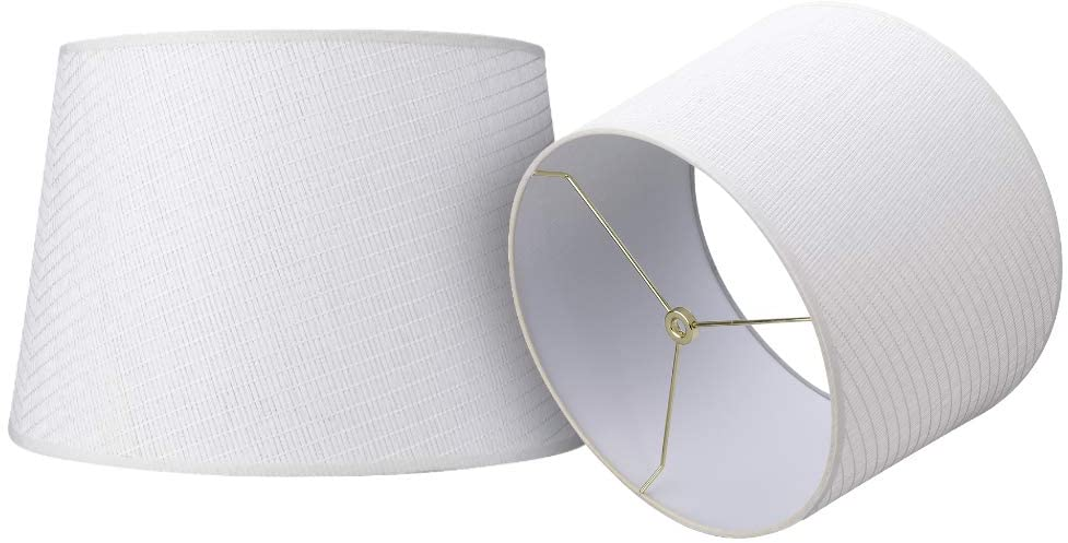 Double Medium Paper Lamp Beauty products Shades Colorado Springs Mall Set 2 Lampshade Alucset of Drum