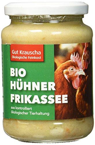 Gut Krauscha Bio Hühnerfrikassee, 2er Pack (2 x 320 g)