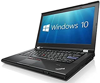 Lenovo ThinkPad T420 i5-2520M 2.5GHz 8GB 128GB SSD WebCam Windows 10 Professional 64-bit (Certified Refurbished)