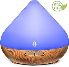 Aroma Diffuser 300ml TaoTronics Ultraschall Luftbefeuchter Diffusor BPA-Free Aromatherapie Düfte Humidifier für ätherische öle Raumbefeuchter Duftlampen Feuchtigkeitsabgabe für Raum,Büro,Yoga,Spa,usw