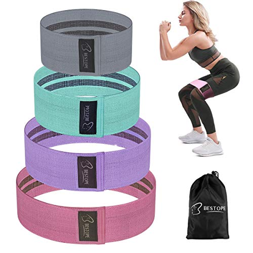 BESTOPE Unisex-Youth 3 Pcs - 3 Color Resistance Bands