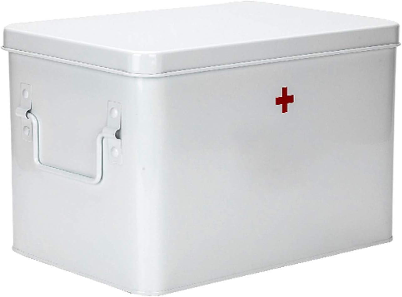 YLX Household Large-Capacity Award-winning store Metal Single-Layer Oakland Mall Medicine Dou Box