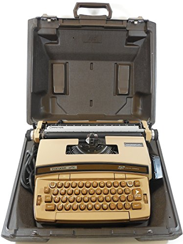 Smith-corona Coronet Super 12 Coronamatic Portable Electric Typewriter