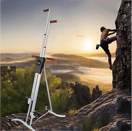 CHIYA Scalatore Verticale Regolabile e Pieghevole,Vertical Climber da Fitness per Un Allenamento Efficace Vertical Climber Alpinismo,Pieghevole Design Multifunzionale
