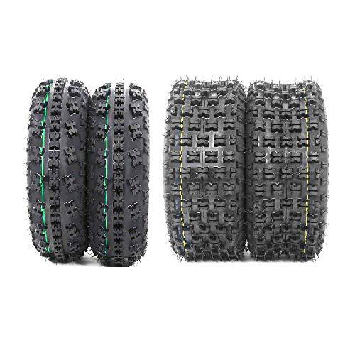 Set of 4 New Sport ATV Tires 21x7-10 Front & 20x10-9 Rear /4PR - P348