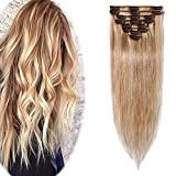 Best Clip In Hair Extensions - Remy Clip in Hair Extensions 100% Human Hair Review