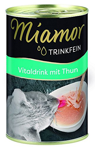 Miamor Trinkfein Vitaldrink mit Thunfisch 135ml Größe 6 x 135ml