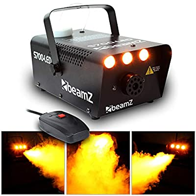 Beamz S700 Smoke Machine with Flame Effect 700W