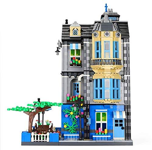 CDSVP DIY kleine Partikel Europäisches Architekturthema Baustein zusammengebaut Bausatz Konstruktion Geschenkidee zum Sammeln, 2313-pcs