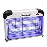 ASPECTEK Bug Zapper Repellente per Zanzare - Lampada UV, Assassino di Insetti Elettrico 20W,...